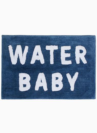 Marks & Spencer Sloganlı Banyo Paspası Mavi